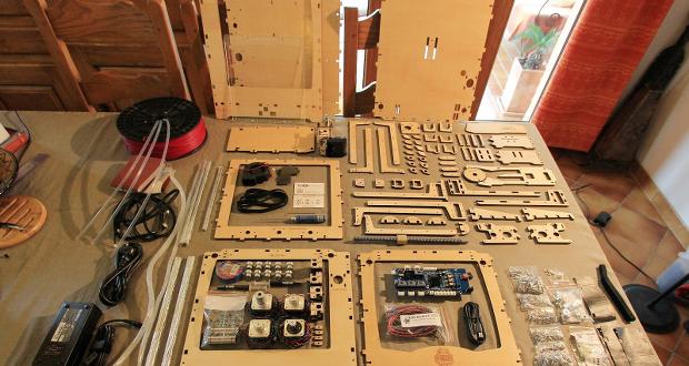 die besten 3d drucker im bausatz 3dnatives. Black Bedroom Furniture Sets. Home Design Ideas