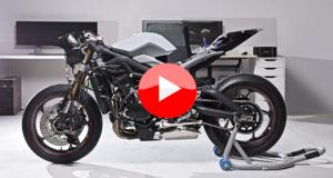 Zortrax 3D gedrucktes Motorrad; Zuckerbergs Beast als 3D Replikation