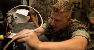 US marines 3D printing
