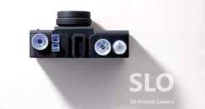 cámara impresa en 3D