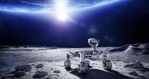 rover lunaire 3D