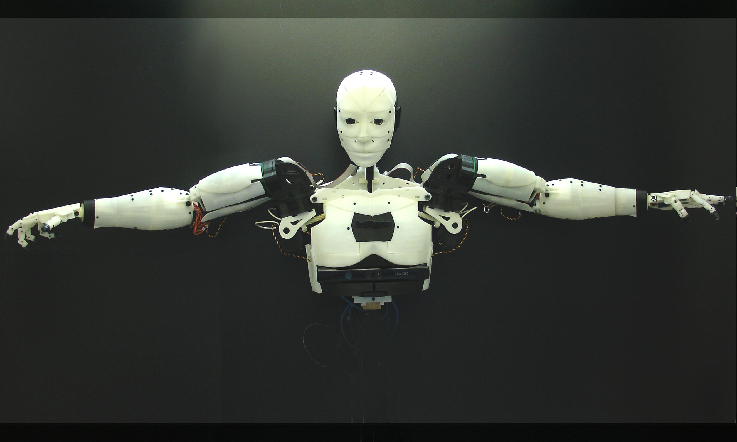 Inmoov le robot humano de imprim en 3d d couverte avec for Createur 3d