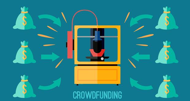 impression 3D et crowdfunding