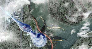 gratte-ciel imprimé en 3D