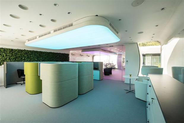 des bureaux imprim s en 3d inaugur s duba 3dnatives. Black Bedroom Furniture Sets. Home Design Ideas