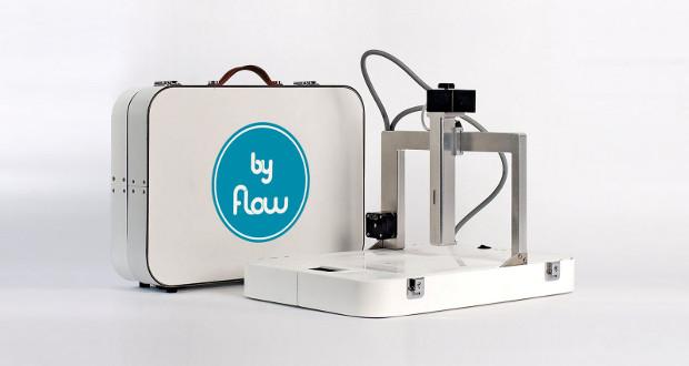 L'imprimante 3D alimentaire Focus 3D par byFlow