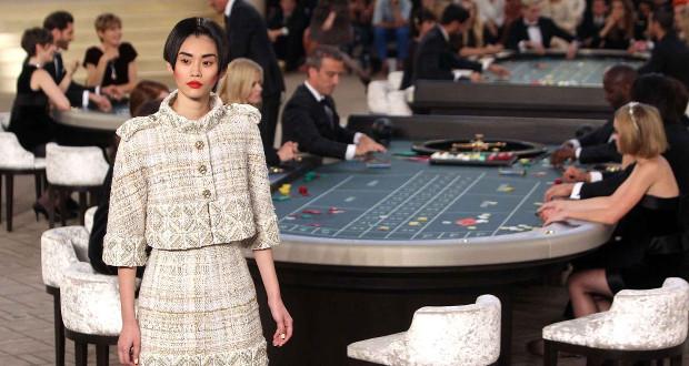 Pokaz Karla Lagerfelda w Grand Palais
