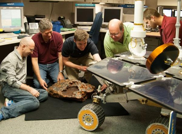 meteorito impresión 3D