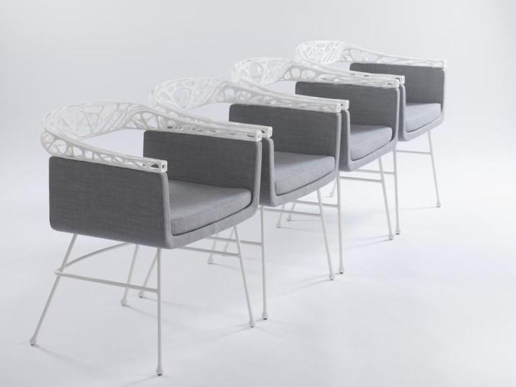 Fotele w wersji poliamidowej (białej)