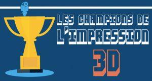 champions de l'impression 3D