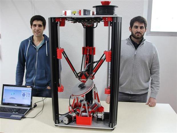 imprimante 3D 6 axes