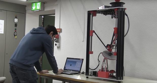 3D Drucker sechs Achsen