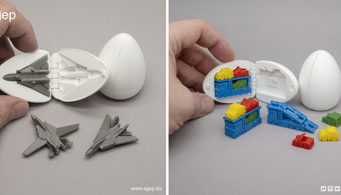 Spielzeuge aus dem 3D-Drucker