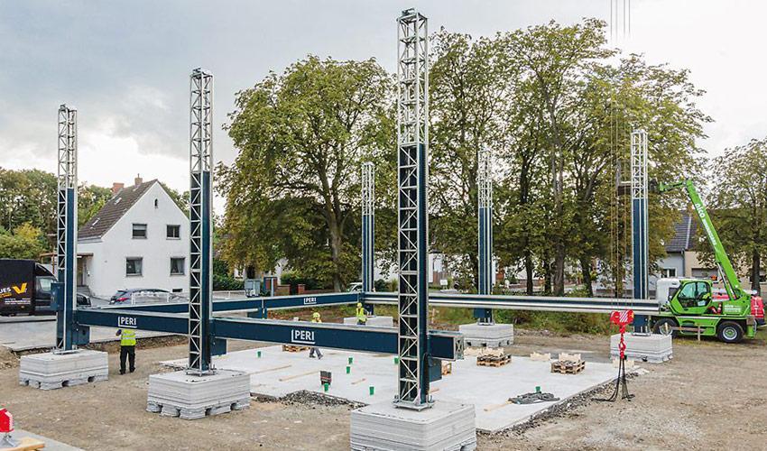 das 3D gedruckte Wohngebäude