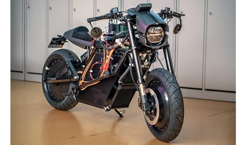Das 3D-gedruckte Elektromotorrad