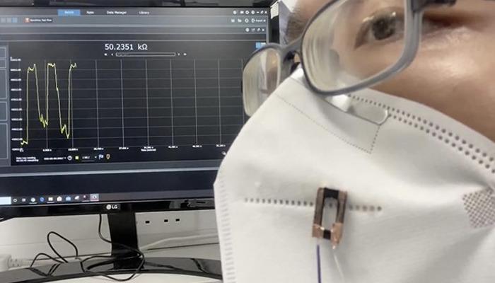 Die 3D-gedruckten Fasern riechen, hören und fühlen