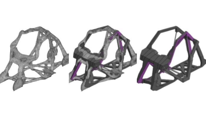 3D-gedrucktes Elektrofahrzeug