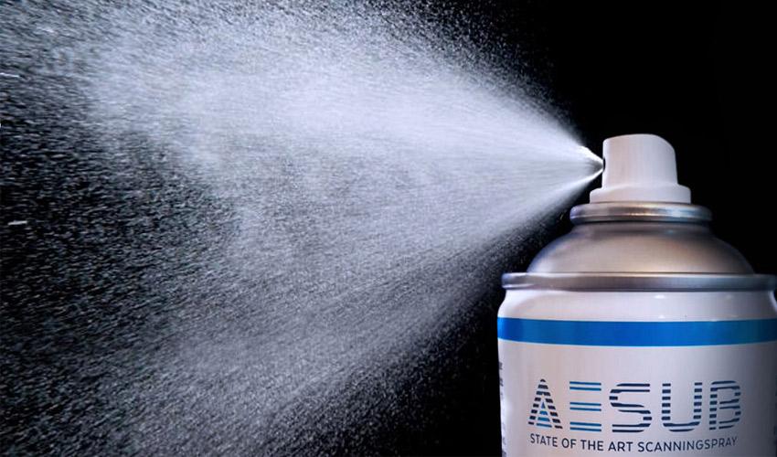 AESUB Sprays 3D-Scans