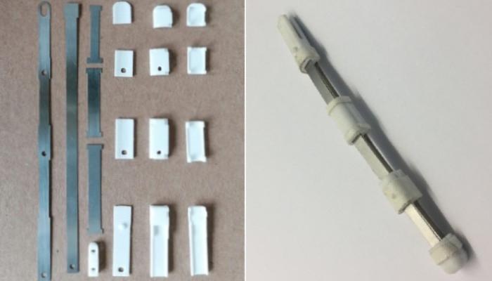 Exoskelett 3D-gedruckte Fingergelenke