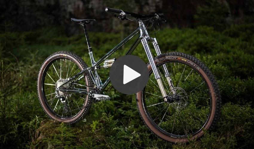 Moorhuhn Fahrradrahmen