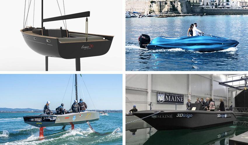 3D-gedrucktes Boot