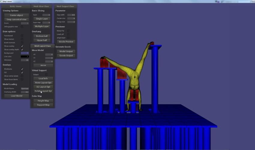 3D-Drucker mit beweglicher Plattform