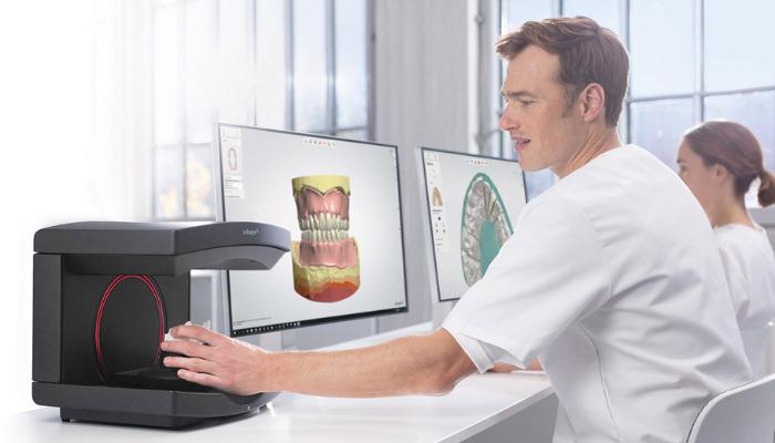 3D-Scanner Dentalbranche