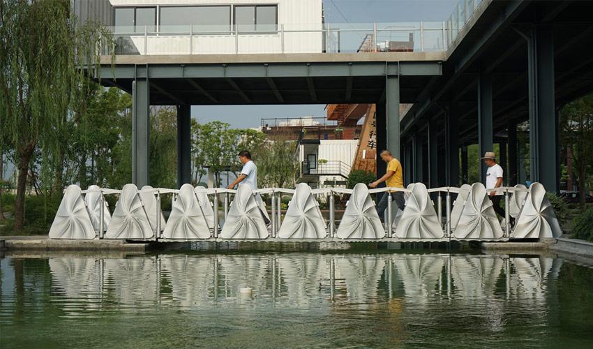 3D-gedruckte Brücke