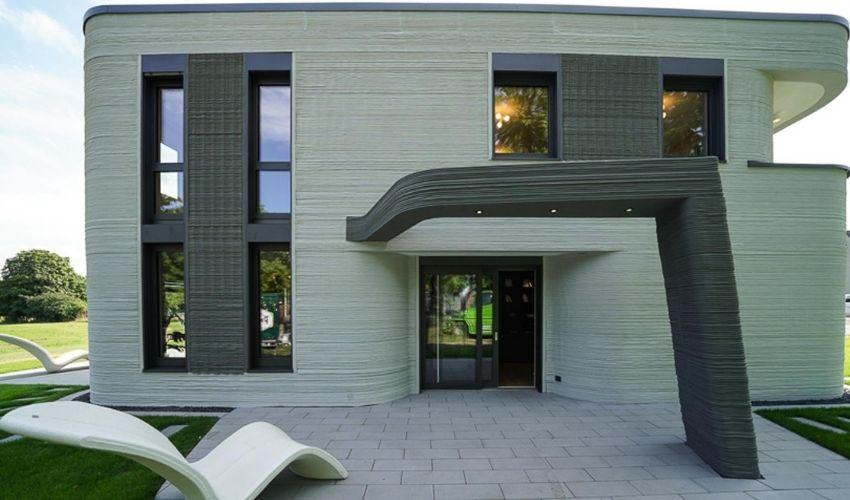 3D-gedruckte Haus Deutschlands
