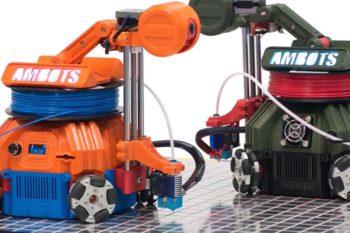 Start-Up des Monats: AMBOTS und 3D-Druck mit Roboterschwärmen