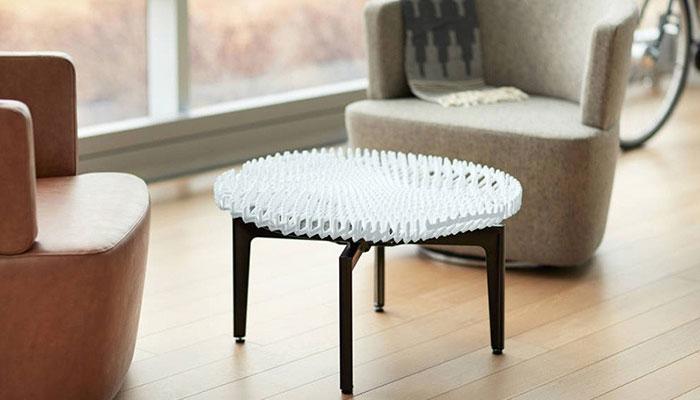 3D-gedruckte Möbelstücke