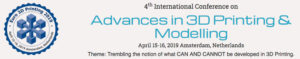Conference on Advances in 3D Printing & Modelling