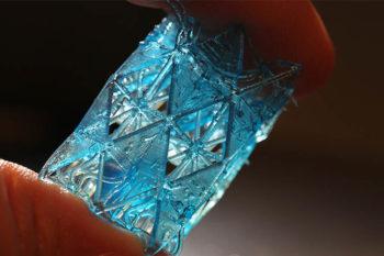 Untersuchung der Struktur von Knochen, um die Festigkeit des 3D-Drucks zu erhöhen