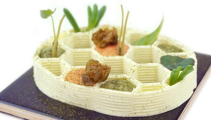 3D-gedruckten Gerichten