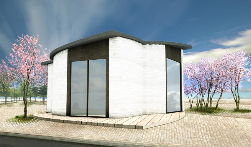 3D-Druck eines Büros in Kopenhagen