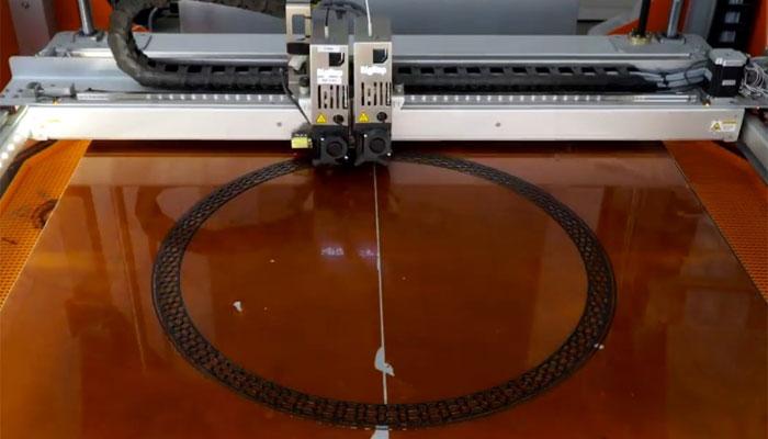 3D-gedruckte Reifen