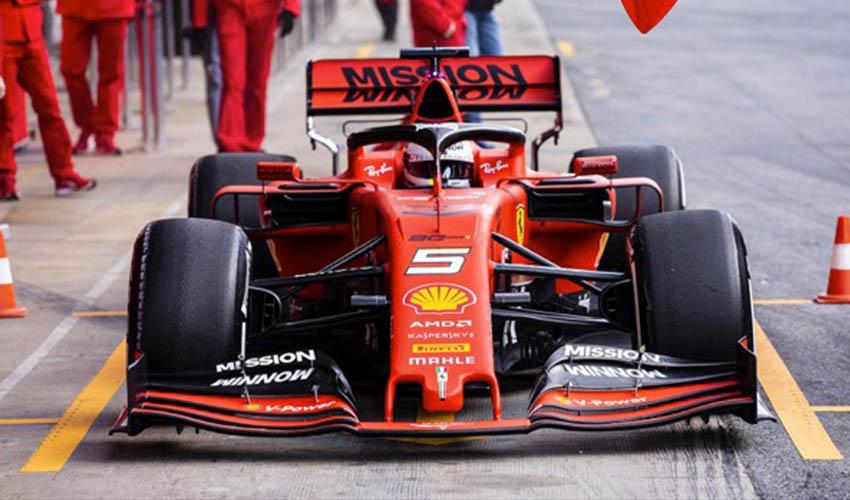 Formel 1 und 3D-Druck