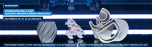 Hybrid Materials and Additive Manufacturing Processes