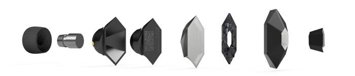 3D-gedruckte Ohrstöpsel
