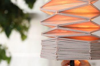 Conductive Origami - Ein Projekt, das 3D-Druck und Textilien mit Beleuchtung kombiniert