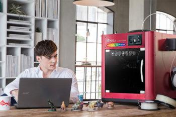 XYZprinting: Vom 3D-Desktop-Druck zur professionellen additiven Fertigung