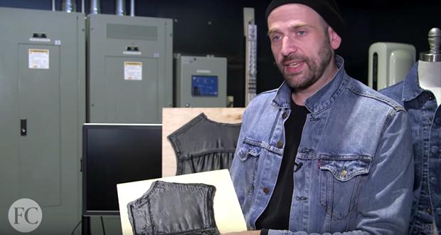 jeansjacke aus dem 3D-drucker