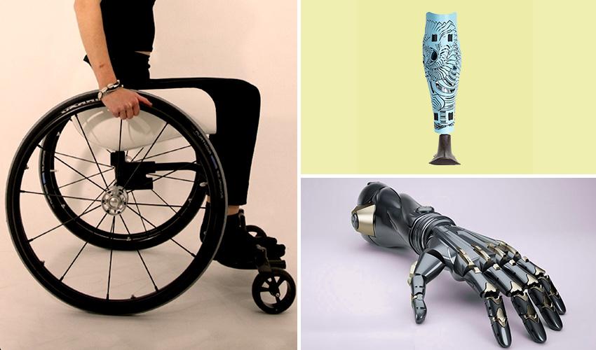 3D-Druck-Anwendungen für Menschen mit Behinderung