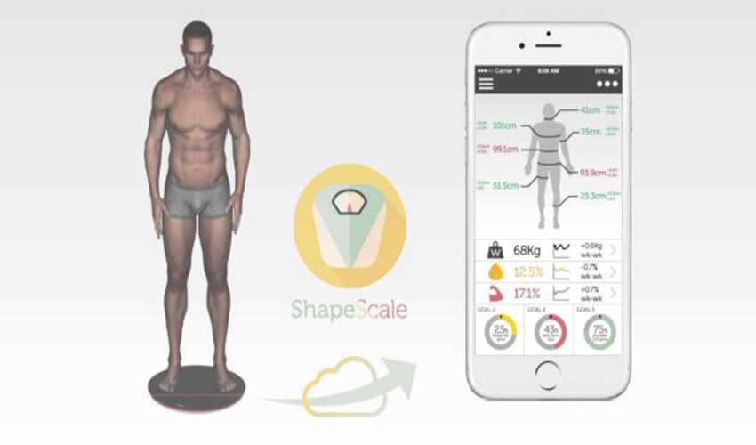 shapescale 3D-scan