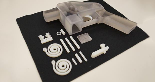 3D gedruckte Waffen