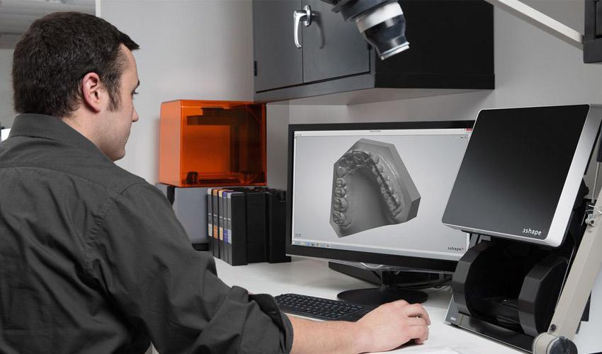 3D-Dentaldruck