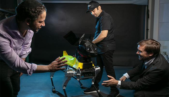 3d-gedruckter roboterhund