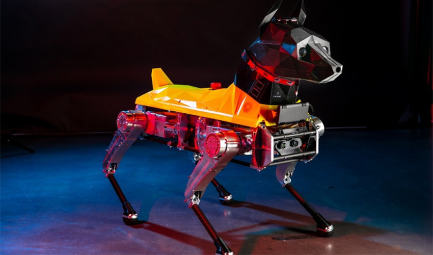 der 3d gedruckte roboterhund astro basierend auf k nstlicher intelligenz 3dnatives. Black Bedroom Furniture Sets. Home Design Ideas