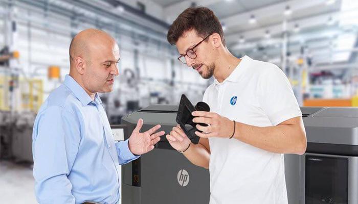 HP und der 3D-Metalldruck