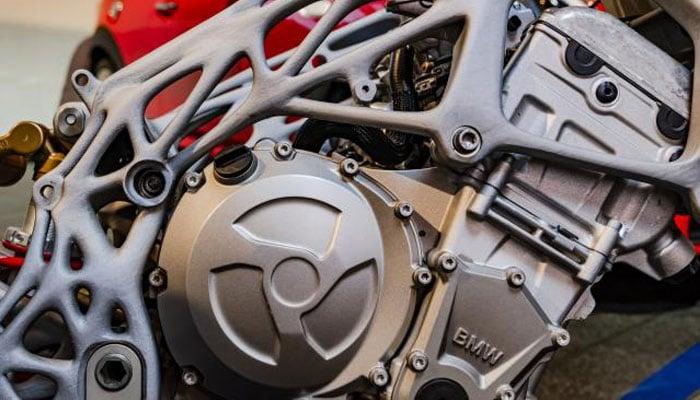 3D-gedrucktes Motorrad BMW